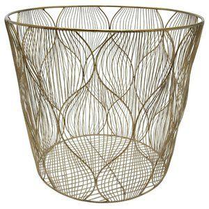 New Ogee Wave Wire Basket- Medium